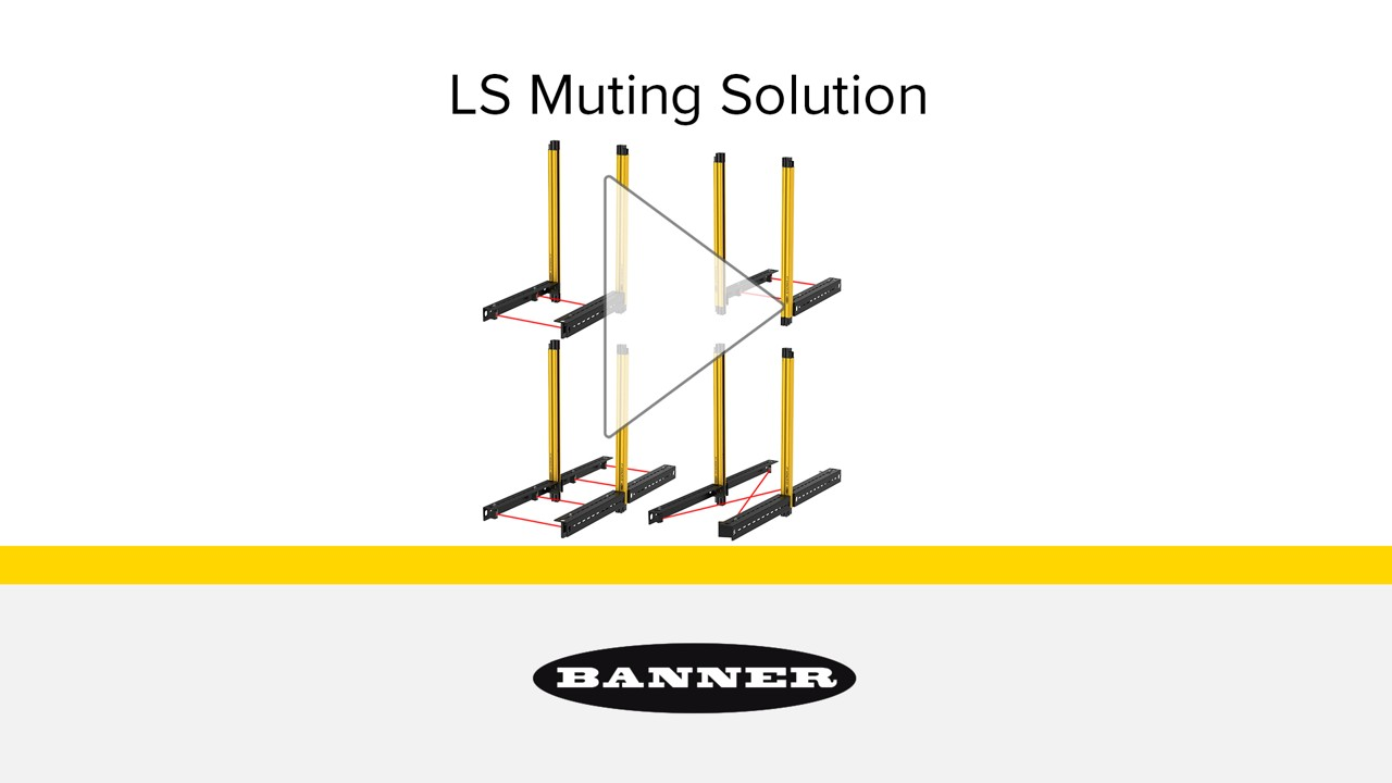 How to Set Up Muting with LS Safety Light Curtain | Banner Banner Saftey Relay Wiring Example on